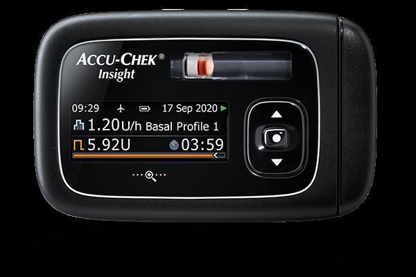 Accu-Chek® Insight diabetes therapy system