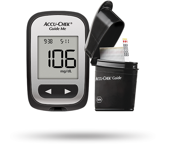 Accu-Chek® Guide Me BGM system